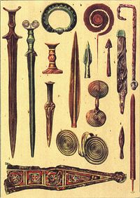 Bronze age weapons Romania.jpg