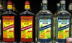 Myers's Rum Original Dark and Premium White Bottles.PNG