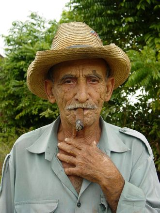 Old Man on Farm Near Pinar del Rio - Cuba.JPG